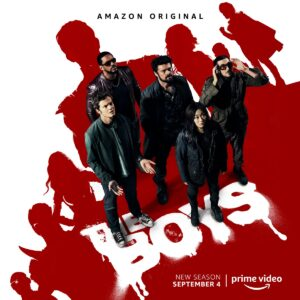 Amazon original The Boys Season 2