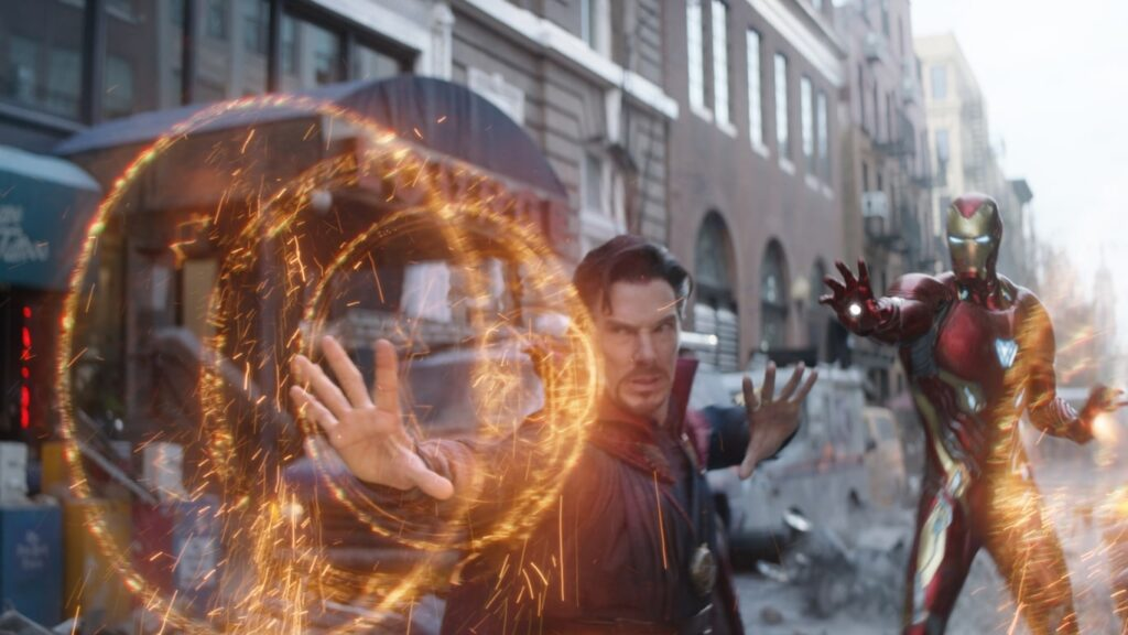Doctor Strange appears in the second last film of the Infinity Saga