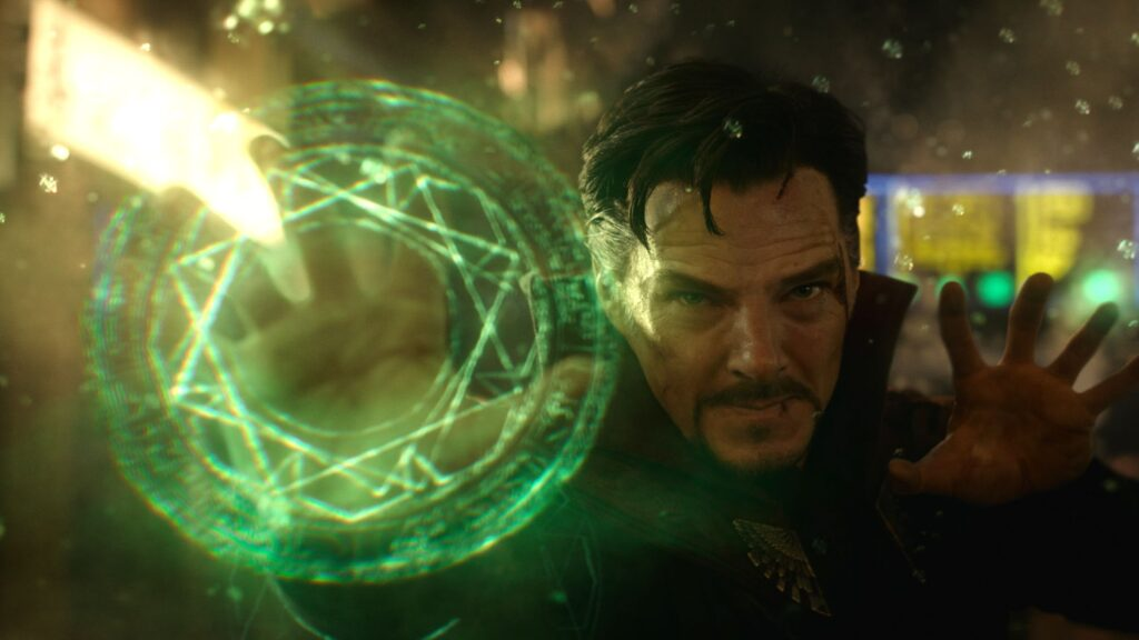 Benedict Cumberbatch played Doctor Strange
