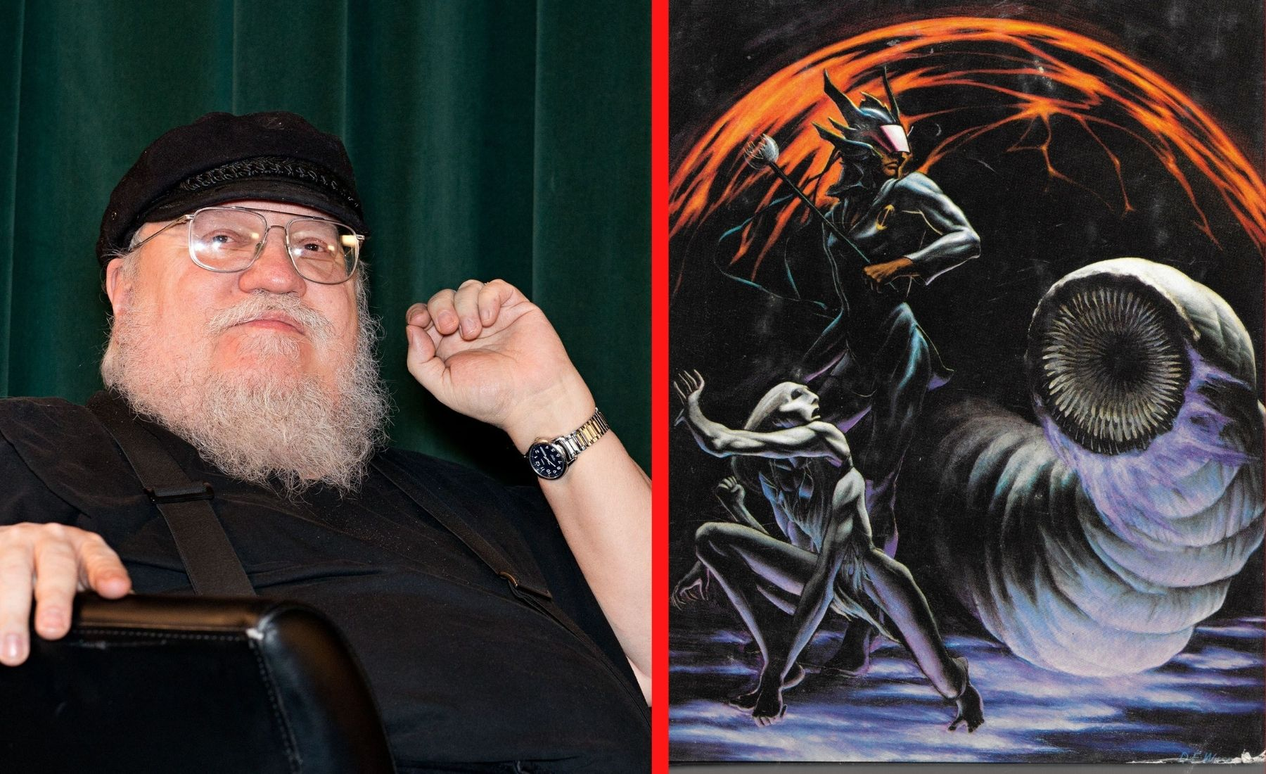 George R.R. Martin's Netflix Movie 'Sandkings'