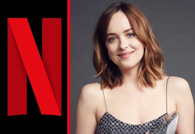 Dakota Johnson in Netflix's Persuasion
